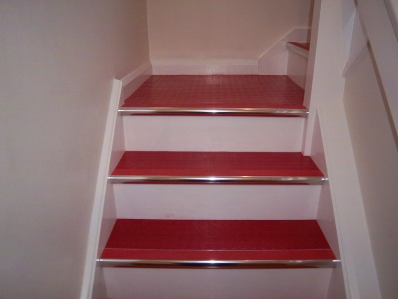 Rubber Flooring On Stairs
